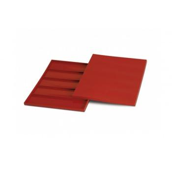 Silikomart Silicone Rectangular Bars Ganache or Genoise Mold - 325 x 325 H 10 mm