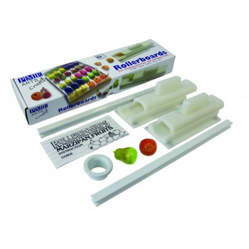 PME Marzippan Fruit Rolling Kit - Orange & Pear