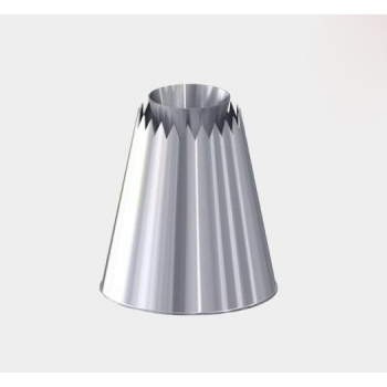 De Buyer Stainless Steel Sultan Pastry Tip Nozzle - Protruding Cone