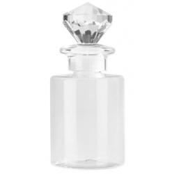 Plastic Mini Bottle Fragrance Bottle 5.1 oz Ø 2.3'' H 3.5'' - 100pcs- CAPS INCLUDED