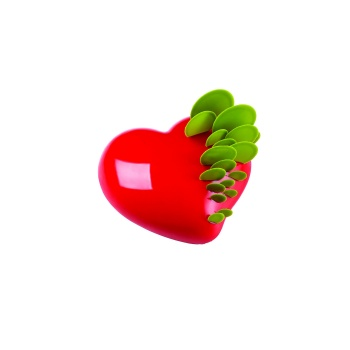 Pavoni Professional Silicone Heart Mold PASSION - mm 175 x 165 x 58 H - 960ML