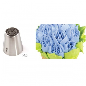 Russian Icing Decorating Nozzle Tips Stainless Steel- Flowers - No 1