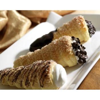 Cream Horn Pastries Large - 4.75'' - 108 Pieces