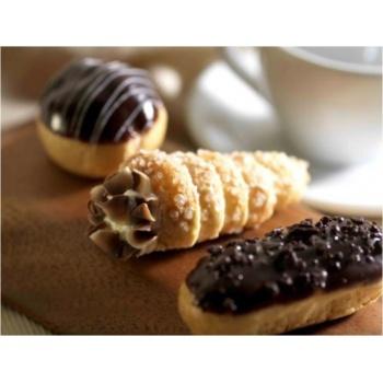 Cream Horn Mini Pastries  - 2.5'' - 108 Pieces