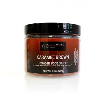 Pastry Chef's Boutique Powder Food  Color - CARAMEL BROWN - 20gr - 0.7oz