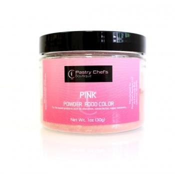 Pastry Chef's Boutique Powder Food Color - PINK - 30gr - 1oz