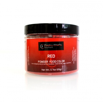 Pastry Chef's Boutique Powder Food Color - RED - 20gr - 0.7oz