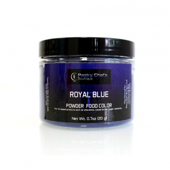 Pastry Chef's Boutique Powder Food  Color - ROYAL BLUE - 20gr - 0.7oz