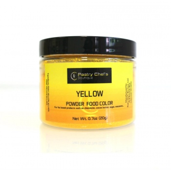 Pastry Chef's Boutique Powder Food Color - YELLOW -  20gr - 0.7oz
