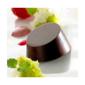 Polycarbonate Chocolate Mold - 29x29x15/12 mm - 3x7 pc/8,50 gr - 275x135x24mm