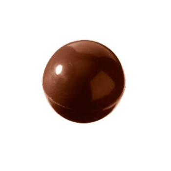 Polycarbonate Chocolate Mold Sphere Double Mold - Ø30 mm - 3x8 pc/2x9 gr - 275x135x24mm