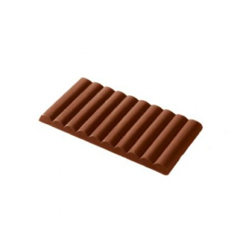 Polycarbonate Chocolate Mold Tablet - Waves - 192x93x10 mm -1 pc/160 gr -275x175x24mm