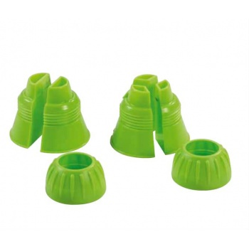 Pastry Tips Couplers for Double and Three Color Piping Bags
