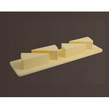 Triangular Shaped Plastic Pastry Extractor