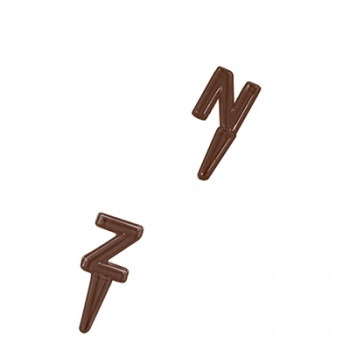 Thermoformed Chocolate Mold - Alphabet Letters N-Z