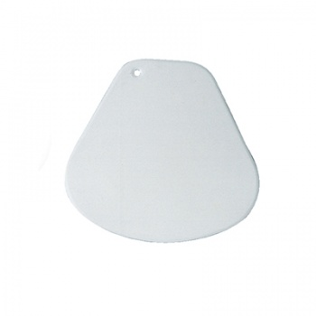 Soft Rounded Plastic Scraper - 150x150mm