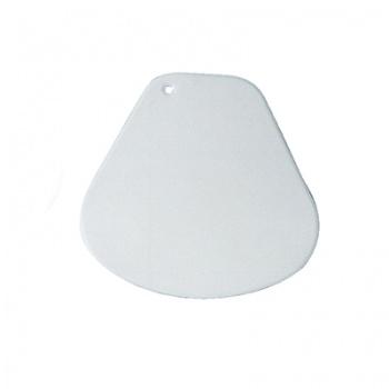 Soft Rounded Plastic Scraper - 150x150mm