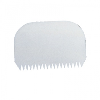 Comb Shape and Icing Scraper