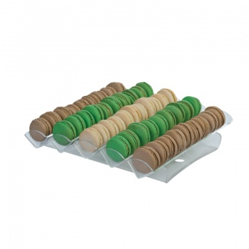 Macaron Display Clear - 5 Lines - 315x325 h65 mm