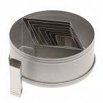 Ateco Diamond Stainless Steel Cookie Cutter Set - 8 Pcs
