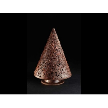 Pavoni Thermoformed Mold - ALBERO A CONO - Christmas Trees Ø 110 x 160mm H - Weight: 250 g