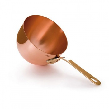 Matfer Bourgeat Copper Zabaglione Bowl - Solid Copper