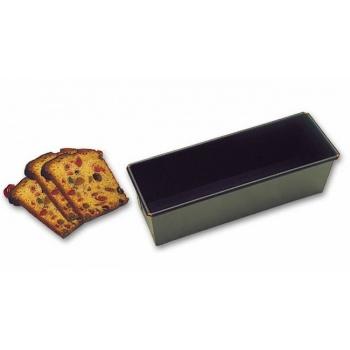 "Matfer Bourgeat Exopan Steel Non-Stick Bread Cake Mold - 7 7/8""x 3 1/8""x 3 1/8"""