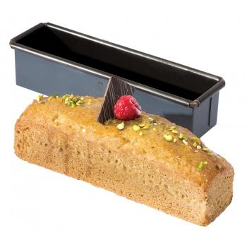 "Matfer Bourgeat Exopan® Steel Non-Stick Mini Loaf Mold 7 1/8"" x 1 3/4"" x 1 3/4"""