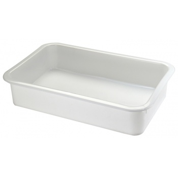 "Matfer Bourgeat Rectangular Dough Container - 20 7/8"" - 16 1/8""- 3 1/8"" - Capacity 10L/10.5Qts"