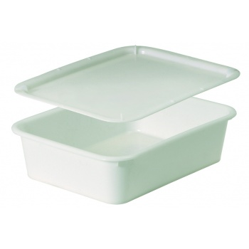 "Matfer Bourgeat Rectangular Dough Container - 20 7/8"" - 16 1/8""- 5 3/4"" - Capacity 21Qts"