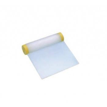 Plastic Rigid Dough Scraper -Straight Edge - 4.3''