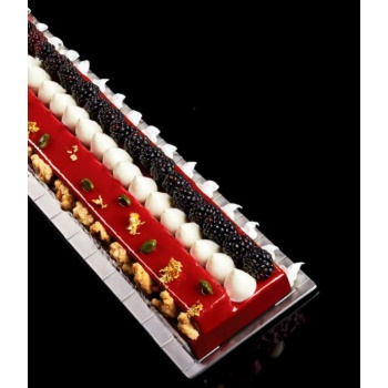 PAVONI ADAPTABLE - The New Rectangular Cake Frame Modular System - X09 -580 x 90 - H 40 mm