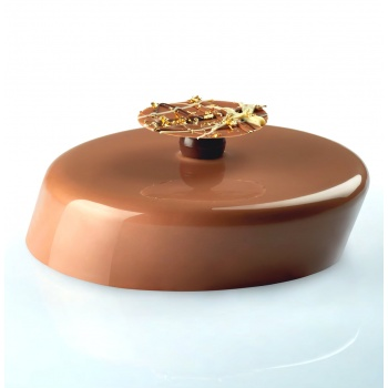 Pavoni Silicone Entremets Mold - WINDY - KE026 - mm Ø 195 x 180 H - Vol: 1 100 ml