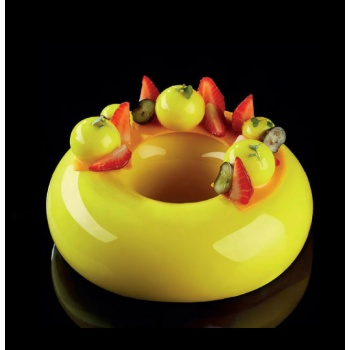 Pavoni Silicone Entremets Mold - GALAXY - KE032 - mm Ø 175 x 55 x 55 H - Vol: 1 000 ml