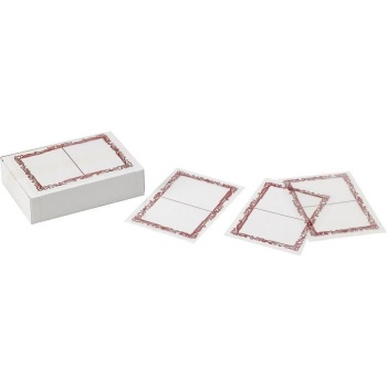 """Polypropylen Clear Pastry Liners """"Milunes"""" - 100pcs"""
