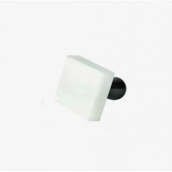 Square Plastic Tart Temper - 6.5cm x 6.5cm