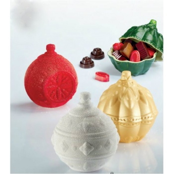 Pavoni Thermoformed Mold - XMAS BALLS - Set of 3 Balls