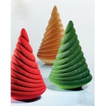 Pavoni Thermoformed Mold - ALBERO SOFT - Christmas Trees Ø 125 x 195mm H - Weight: 200 g