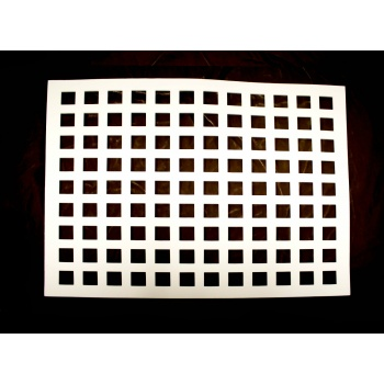 Rubber Chocolate chablons - Square - 2cm x 2cm
