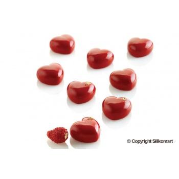 Silikomart Professional Silicone Mold Micro Love 5 - 26,5 x 25 x 13,75 - 5 ml - 35 Cavity
