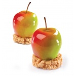 Pavoflex - TUTTIFRUTTI  APPLE - 30mmx40mm - 20 Cavity -  Ø 55 x 48 mm H Vol:  90 ml