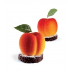 Pavoflex - TUTTIFRUTTI CHERRY PEACH - 30mmx40mm - 20 Cavity - Ø 58 x 53 x 46 mm H Vol: 90 ml