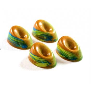 Antonio Bachour Bonbons Chocolate Mold - 275 x 135 mm - 21 Cavity - 38 x 26 x 18 mm - 10gr