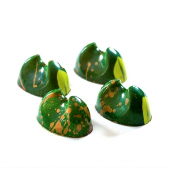 Antonio Bachour Bonbons Chocolate Mold - 275 x 135 mm - 21 Cavity - 36 x 25 x 20 mm - 10gr