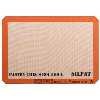 Sasa Demarle Silpat Premium Silicone Liner US Big Sheet Pan Size (2/3 Sheet Pan), 13.58''x 19.5'' for a 15''x21'' Sheet Pan.