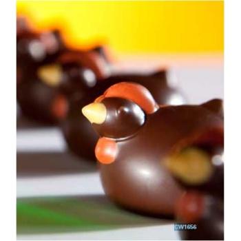 Polycarbonate Fantasy Chocolate Egg Mold 62x41.5x23 mm - 12 Cavity - 3 Types - 2x32.5gr- 275x135x28mm