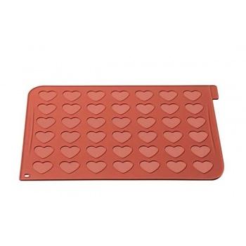 Silikomart Heart Macarons Silicone Mat