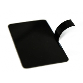 Palet Rectangle Monoportion Tray Black - 3,13'' x 2,1''x 0,7 ''- 100ct