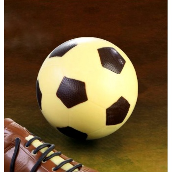 Thermoformed Chocolate Soccer Ball Mold  - 195x60x80 - 2pcs