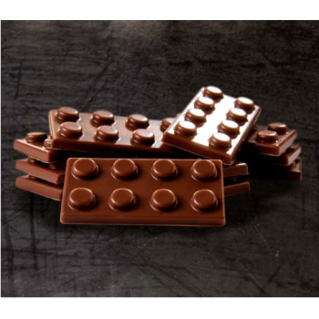 Polycarbonate Chocolate Molds - Square 22x22x22mm - 28 Cavity